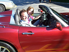 Steve, Kristin and the Saturn Sky